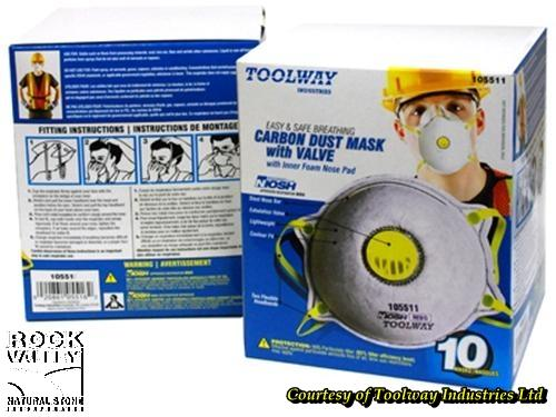 Dust Mask w/ Valve (10 Pack)