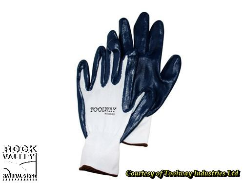 Nitrile Gloves Nylon Back