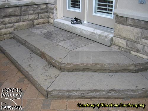 Peninsula Valley Bush-Hammered Square Cut Flagstone