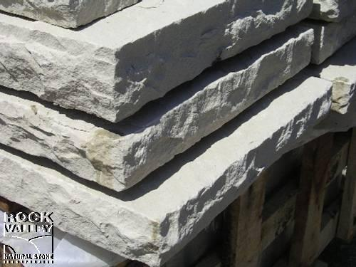 Indus Valley Dove Grey Rock-Faced Coping