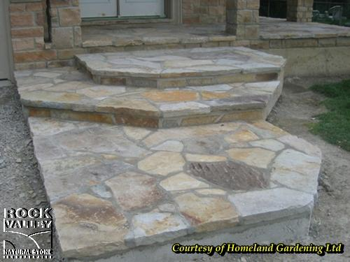Kingston Hue Salmon Random Flagstone