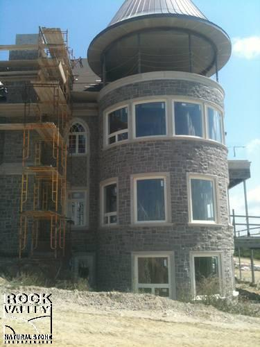 Provincial Grey Natural Bed Building Stone